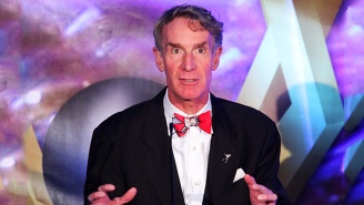 Watch A Very Brave Bill Nye Explain Why 'Star Trek' Is Better Than 'Star Wars'