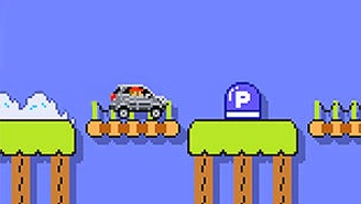 You Can Now Cruise Through 'Super Mario Maker' Stages In An 8-Bit Mercedes-Benz SUV