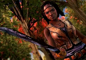 The First Trailer For 'The Walking Dead: Michonne' Hints At Her Tragic Past