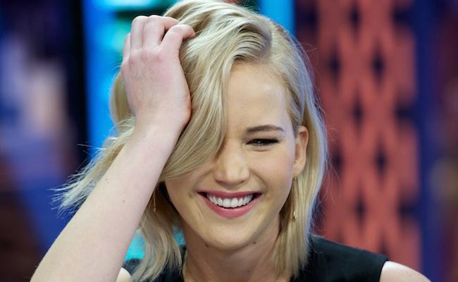 Jennifer Lawrence, Liam Hemsworth and Josh Hutcherson Attend 'El Hormiguero' Tv Show