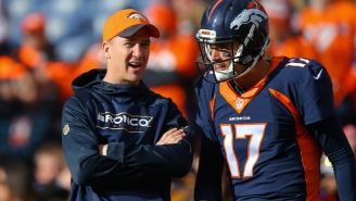 Peyton Manning Says Reports He Doesn't Want To Be A Backup Are 'Bullsh*t'