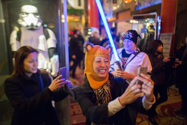 """Opening Night Of Walt Disney Pictures And Lucasfilm's """"Star Wars: The Force Awakens"""" At The TCL Chinese Theatre"""