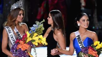 Miss Colombia Says 'Everything Happens For A Reason' In Video Taken After Steve Harvey's Blunder