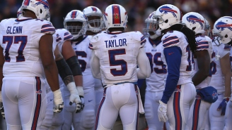 Tyrod Taylor Bought All Of His Offensive Lineman Massive Televisions For Christmas
