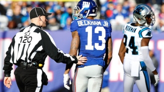 Odell Beckham, Jr. Has Been Suspended One Game For His Antics Against The Panthers
