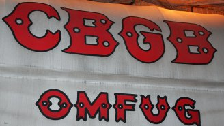 Historic Punk Venue CBGB Is Reopening (As A Restaurant In A New Jersey Airport)