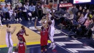 Jeff Green Puts Marcin Gortat On A Poster With This Vicious Slam