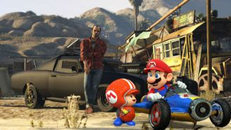 'Mario Kart' Meets 'Grand Theft Auto V' In This Amazing Mod