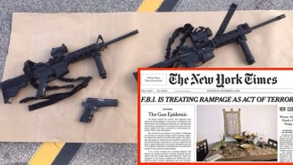 The New York Times Ran Their First Front Page Editorial Since 1920 To Call For Gun Control