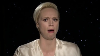 Watch Gwendoline Christie Do The Absolute Worst Chewbacca Impression Ever