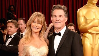 Kurt Russell And Goldie Hawn Recently Rekindled Their 'Overboard' Chemistry While Watching The Movie