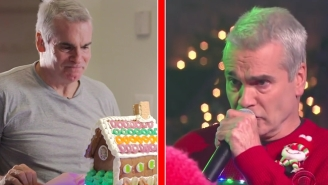 Henry Rollins Is Full Of The Spirit Of The Holidays Thanks To Stephen Colbert