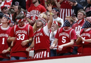 Indiana Fans Sang 'Jingle Bells' To Festively Distract An Opposing Free Throw Shooter