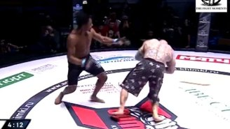 Watch Jeff Monson Get Faceplanted In His First Fight As A Russian Citizen