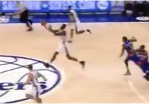 Should Jerami Grant Get An Assist For This Ridiculously Ill-Advised Half-Court Heave?