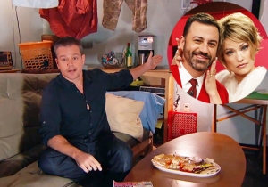 Jimmy Kimmel Even Let Matt Damon Help Out With His Star-Studded AIDS Fundraiser