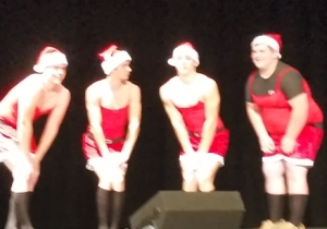 Watch These High School Dudes Completely Nail The 'Jingle Bell Rock' Dance From 'Mean Girls'