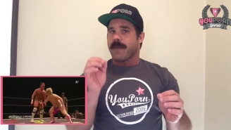 This Pro Wrestler Just Landed A Porn Sponsorship Deal Because Of Course He Did