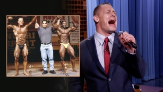 John Cena Confronted His Bodybuilding Past On 'The Tonight Show'