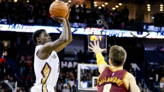 Jrue Holiday's Crunch-Time Three-Pointer Forces Overtime Against The Cavs
