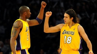 Sasha Vujacic Says Boston Celtics Fans Should Give Kobe Bryant 'The Biggest Standing Ovation'