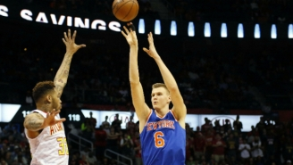 Kristaps Porzingis Unleashed The Nastiest Dream Shake This Side Of Hakeem Olajuwon