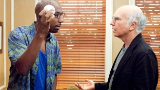 Larry David Made A 'Curb' Reference And Balls Joke On J.B. Smoove's Birthday Card