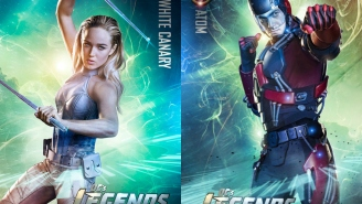 Character posters for 'Legends of Tomorrow' revealed