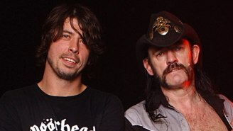 The Lemmy Tribute At The 2016 Grammys Wouldn't Have Happened Without Dave Grohl