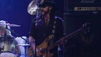 A Look Back At All The Times Lemmy Kilmister And Motörhead Rocked WWE