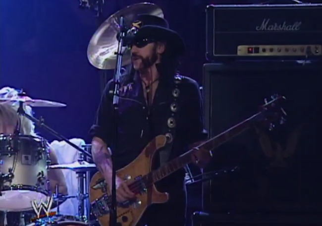 A Look Back At All The Times Lemmy Kilmister And Motörhead