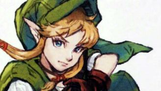 Here's Linkle, The Female Link, In Action