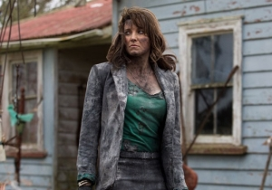 What's Going On With Lucy Lawless' 'Ash Vs. Evil Dead' Character?