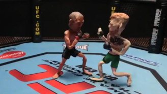 Relive Conor McGregor's Knockout Of Jose Aldo In Claymation