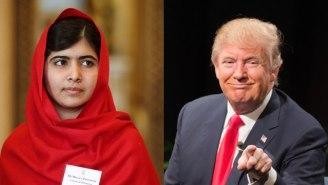 Malala Yousafzai Condemns Donald Trump's Anti-Muslim Rhetoric As 'Full Of Hatred'