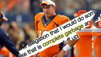 Peyton Manning Responds To Claims He Received HGH, Calling The Report 'Complete Garbage'