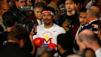 Manny Pacquiao Has Been Banned Again From A Shopping Mall For His Anti-Gay Comments