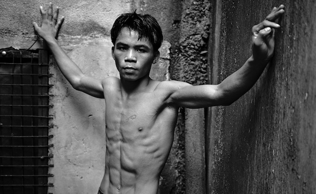 Manny Pacquiao as a Teen - 1996 Historical Images