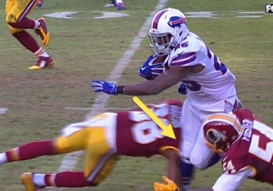 This LeSean McCoy Knee Injury Doesn't Look Good At All
