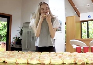 It Did Not Go Well For This New Zealand Model Who Tried To Down 100 McDonald's Cheeseburgers