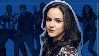 Melissa Fumero On 'Brooklyn Nine-Nine,' Polar Bear Swims And Mattress Jumping