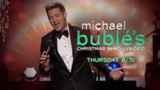 What's On Tonight: Buzz Lightyear Celebrates An Anniversary And Michael Bublé Wishes You A Merry Christmas