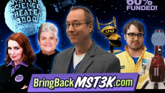 Patton Oswalt has joined the cast of the new MST3K