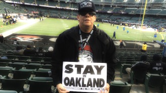 STAY IN OAKLAND: Raiders Fans Agonize Over The Possibility Of Their Team Relocating, Again