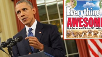 The New York Daily News Trolled President Obama With An 'Awesome' Cover Of Puppies