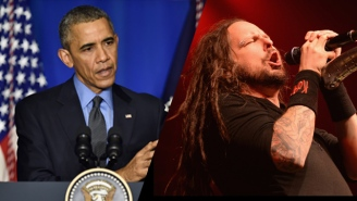 This Video May Prove That President Obama Is Actually Korn's Jonathan Davis