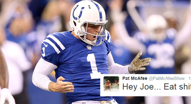 Pat McAfee fans