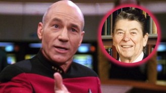 Ronald Reagan Once Visited The 'Star Trek: TNG' Set And Acted Like An Obsessed Fan