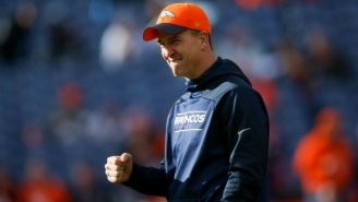 Peyton Manning 'Broke Some Fingers' At Practice In Anger Over Those HGH Accusations