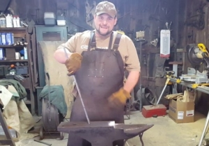 This Angry Blacksmith Hilariously Settles 9/11 Conspiracy Theorists' Jet Fuel Argument
